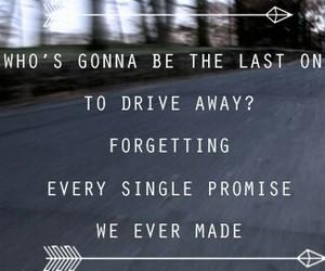 forget, Lyrics, and promise image