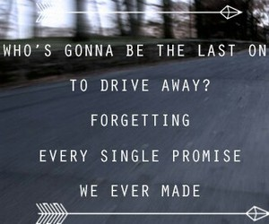 forget, Lyrics, and promise image