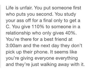 life, unfair, and live image
