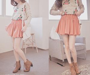 kfashion, skirt, and korean image