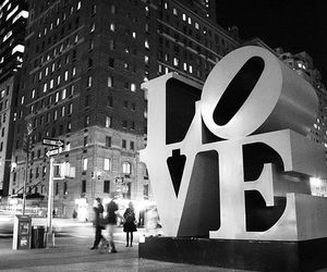 love, city, and new york image