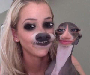 jenna marbles, dog, and lol image
