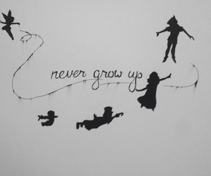 art, drawing, and neverland image