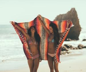 beach, boho, and friends image