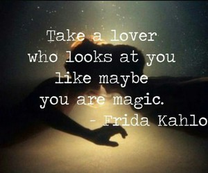 love, magic, and lovers image