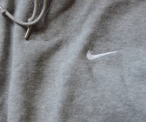 nike, grey, and sweater image