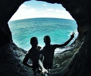 guys, hawaii, and paradise image