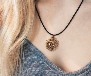 girl, collar, and fashion image