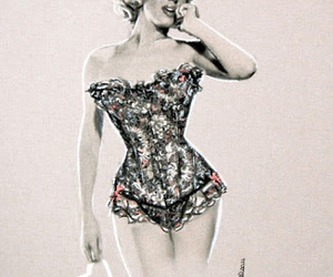 drawing and marilynmonroe image