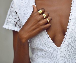 dresses, rings, and knited image