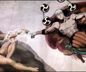 michelangelo, one piece, and franky image