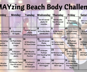 active, challenge, and fitness image