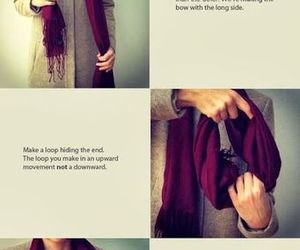 scarf, bow, and style image