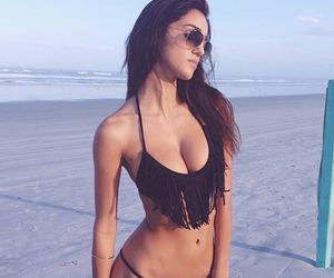 beach, bikini, and sexy image
