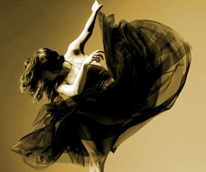 dance, black and white, and ballet image