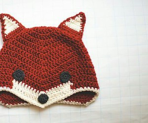 crochet, fox, and tejido image