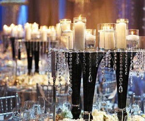 candles and centerpiece image