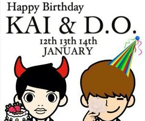 birthday, exo, and fanart image