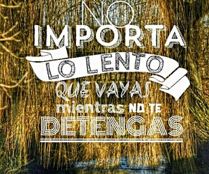 lento, pensamientos, and frases image