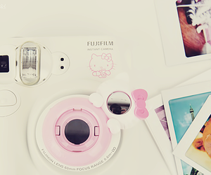 hello kitty, camera, and cute image