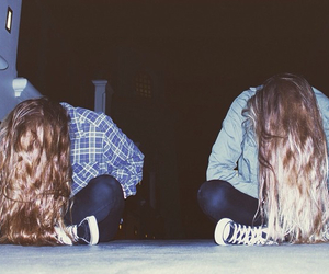 grunge, best friends, and hipster image
