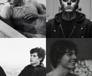 tate, evan peters, and ahs image