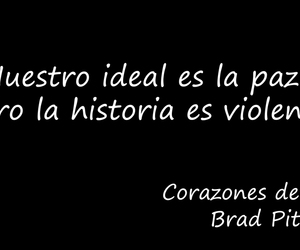 brad pitt, frases, and pelicula image