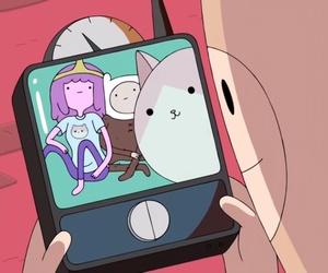 finn, adventure time, and princess bubblegum image