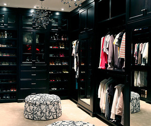 clothes, closet, and luxury image