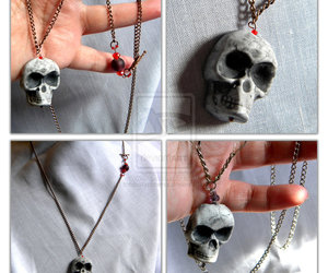 bone, necklace, and charm image