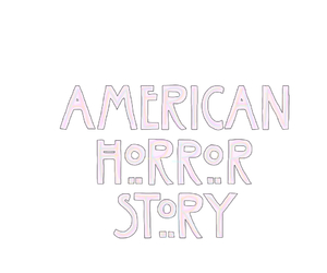 tumblr, overlays, and american horror story image