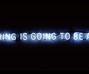 text, neon, and quote image