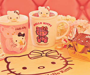 hello kitty, kawaii, and sanrio image