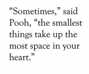 heart, pooh, and quote image