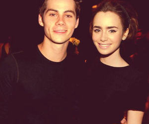 dylan o'brien, lily collins, and actor image