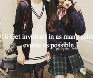 events, high school, and bucket list image