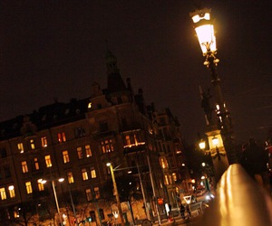 light, night, and stockholm image