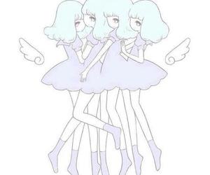 angel, pastel, and 女の子 image