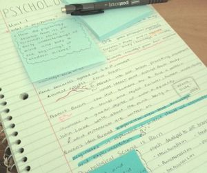 study, book, and note image