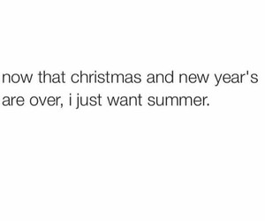 summer, christmas, and new year image
