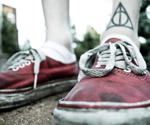 tattoo, vans, and harry potter image