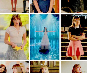 glee, lea michele, and outfit image