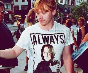 rupert grint, always, and harry potter image
