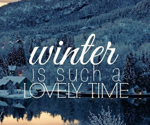 snow, winter, and lovely image