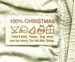 happy, christmas, and sweets image