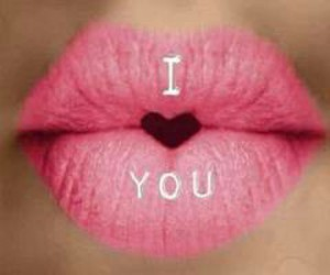heart, lips, and I Love You image