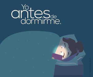 noche sueños dormir image