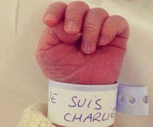 je suis charlie, baby, and france image