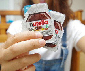 nutella, fashion, and girl image