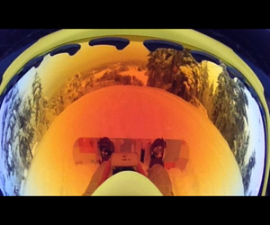 snowboarding and oakley image
